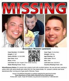 Murder, Meth, or an Innocent Mishap: What Happened to Brandon Lawson? Hair Color Blue, Eye Color, Crime Articles, Very Scary, Cold Case, Kids Poster, Rich Kids, True Crime, Three Kids