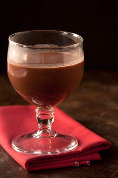 Red wine hot chocolate!