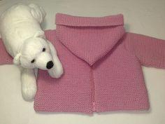 Abrigo de bebé con capucha – El castillo de lana