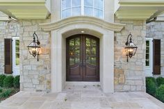 European Inspired County Home In New Jersey - traditional - Entry - New York - L&L Builders Corp