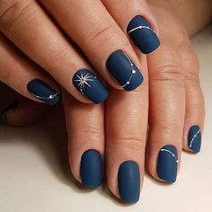 New Years Nail Art Designs // Manicure . - New Years Nail Art Designs // New Year Manicure - New Year's Nails, Fun Nails, Hair And Nails, Nail Polish, Nail Manicure, Manicure Ideas, Nail Art Ideas, Manicures, Winter Nail Art