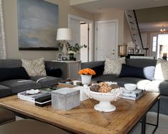 Family Room Grey Sofa Design, Pictures, Remodel, Decor and Ideas - page 6