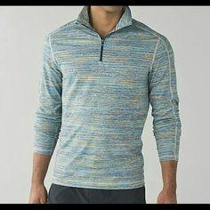 Lululemon Mens Surge warm 1/2 zip NWT. lululemon athletica Tops Sweatshirts & Hoodies