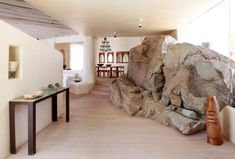 house in mikonos, greece designed by catalan architect javier barba of architecture firm bc estudio.