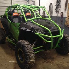 Custom Roll Cage for Polaris RZR