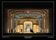 Projekt scenografii do spektaklu, autor: Gianni Quaranta