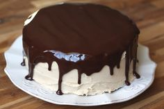 Barefeet In The Kitchen: Chocolate Peanut Butter Cake