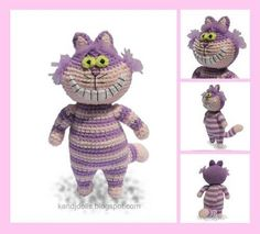 Cheshire Cat Crochet~~~Again..I SO need to make this for Hannah