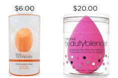 These beauty dupes will save you money.