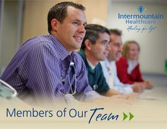 Hear a few of our employees talk about their career and life at Intermountain Healthcare.