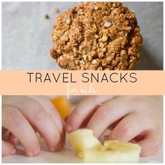 Need ideas for travel snacks for kids? I've got you covered.