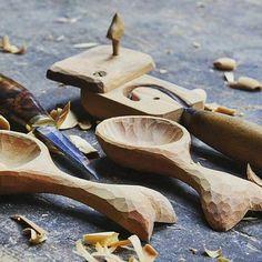 #Morakniv #handicraft #woodcarving #spoons #diy #create #nature #Mora #Sweden #knife #carving #craft #sloyd #slöjd #inspo #inspiration #ブッシュクラフト #bushcraft