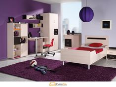 Classic Children/Kids Furniture Set Composition: NEMO SET Single Bed (mattress included) with Side Night Table, Wardrobe, Desk and Wall-mounted Shelves, Chest Of Drawers and Free Standing Shelves and Doors Unit. Kids Furniture Sets, Free Standing Shelves, Luxury Bedding Collections, Night Table, King Bedding Sets, Beds For Sale, Wall Mounted Shelves, Toddler Bed, Cheap Beds