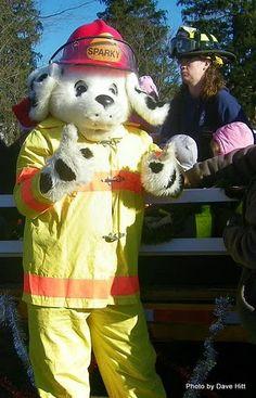 sparky the fire dog robot. sparky! sparky the fire dog robot