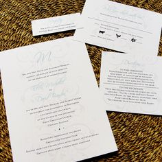 Forever Flourish Monogram Custom Color Wedding Invitations $2.50