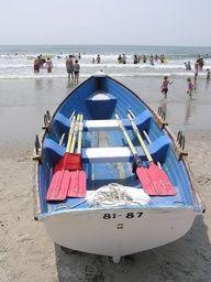 Going Coastal - Lifeguard Boat, Ocean City, New Jersey