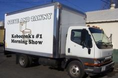 Steve and Tawny Radio Show's Promo Truck