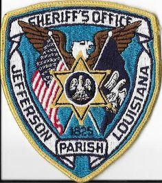 Jefferson Parish Sheriff's Office, LA. Patch