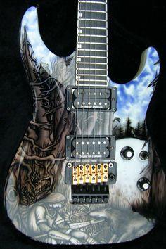 Guitar Pics, Guitar Case, Music Guitar, Cool Guitar, Playing Guitar, Esp Guitars, Bass Amps, Guitar For Beginners, Beautiful Guitars