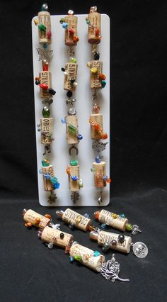 Wine Cork Magnets by Dionysus Creations