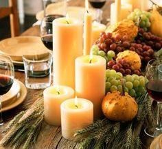 Ahora si parece que ha llegado el otoño y aunque mis calabazacitas ornamentales brotaron en pleno · Thanksgiving Table SettingsThanksgiving ... & A Thanksgiving Table with Turkey Plates Plaid and Pumpkin-Oak Leaf ...