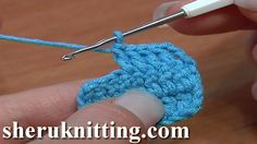 CROCHET FOR BEGINNERS Tutorial 6 How to Double Crochet. http://sheruknitting.com/videos-about-knitting/crochet-for-beginners/item/179-crochet-for-beginners.html  In this tutorial for beginners you will learn how to double crochet or to make a double crochet stitch.