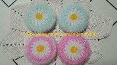 3번째 이미지 Crochet Home, Diy Crochet, Scrubby Yarn, Crochet Potholders, Diy And Crafts, Crochet Earrings, Crochet Patterns, Weaving, Knitting