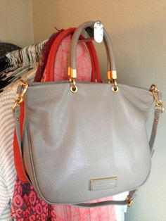 Marc Jacobs bag. ~ Love the shape of this hand bag!