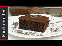 Ζουμερή σοκολατόπιτα με γιαούρτι | Foodaholics - YouTube Pudding, Sweets, Chocolate, Desserts, Youtube, Food, Tailgate Desserts, Deserts, Goodies