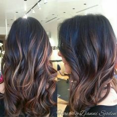 "Balayage Ombre Highlights | Balayage highlights Ombre Überblenden "". Hair by Danni Sjoden ..."