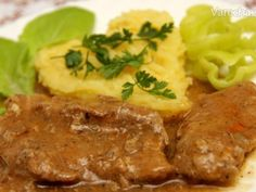 Mashed Potatoes, Pork, Food And Drink, Beef, Chicken, Cooking, Ethnic Recipes, Cakes, Red Peppers
