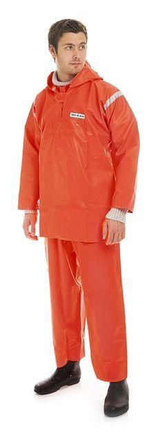 Anorakki 817 OCEAN, 540g PVC, oranssi - Kivikangas