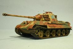 """""""King Tiger Ardennes"""" by Moose421  This is a King Tiger as they appeared during the Ardennes Offensive"""