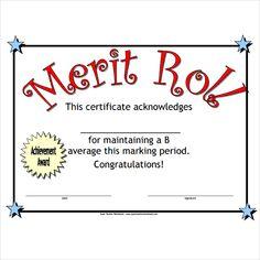 Merit Certificate Sample Amusing 17 Job Certificate Samples  Free Word & Pdf  Office Work .