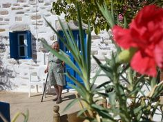 A Greek grandma is always ready to welcome you in Amorgos!  #amorgos #authtraveljournalists #engagintravelers  #endlessblue #travel #hospitality #explore #vacations #greece #islands #sea #sun