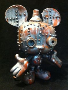 Steam-Bot Mickey by Paul McCue, via Behance