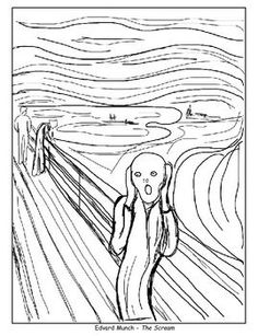 sub plans coloring pages the scream american gothic beasts of the sea and okeeffes poppy