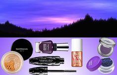 Make up, nature inspiration-Tramonto viola (violet sunset)