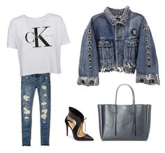 """""""Denis"""" by patricia-cuesta on Polyvore featuring moda, Hollister Co., Christian Louboutin y Lanvin"""