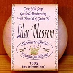 Hand Made Goat Milk Soap/ Lilac Blossom  at the Shopping Mall, $5.50  Discounted Price: $4.67 (CAD) Lilac Blossom, Goat Milk Soap, Castor Oil, Soap Making, Shopping Mall, Soaps, Handmade, Bath Soap, Shopping Center