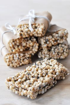 Quinoa Chia Freezer Bars!!! Love the sound of these... delicious, so ...