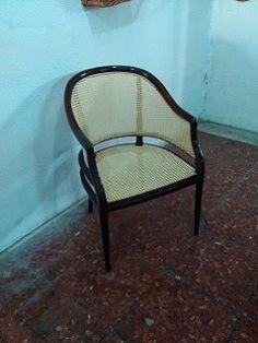 Nico, el artesano de mimbre, anea, rejilla, cuerda y caña:  Restauración de asiento y respaldo de rejilla clá...
