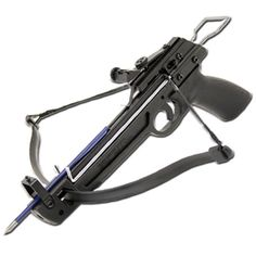 """50lb Crossbow Pistol MK50A1/5PL Lightweight Crossbow Pistol ,  Fiber Body 50 lb Draw ,  150 ft per second Comes with  5 Bolts (arrows Overall Length 12.8"""" , Width 16.5"""""""