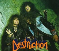 Destruction (Thrash Metal) A german God Destruction Band, Hard Rock, Dance Of The Dead, 80s Rock Bands, Crust Punk, Power Metal, Band Photos, Heavy Metal Bands, Thrash Metal