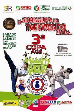 3er Copa Nacional de Jidokwan de TKD en San Francisco de los Romo ~ Ags Sports