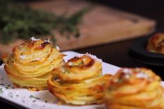 Muffin tray parmesan potato stacks&width=140