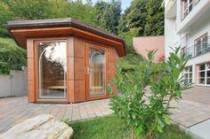 Ein besonderes Wellness-Highlight ist unsere Gartensauna. Wellness, Windows, Window, Ramen