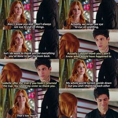 "#Shadowhunters 1x12 ""Malec"" - Clary and Alec"