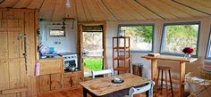 Big Sky Retreat - seen on Amazing Spaces - used gas pipes and isolator taps as sink tap set