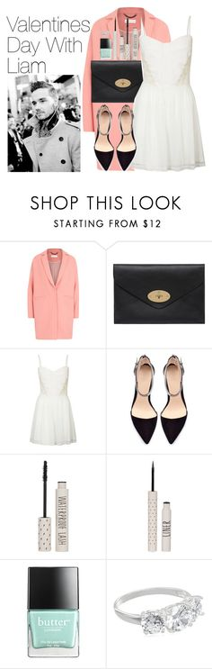 """""""Valentines Day With Liam"""" by onedirectionimagineoutfits99 ❤ liked on Polyvore featuring Mulberry, Club L, Zara, Topshop, Butter London and Payne"""